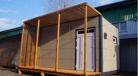 Заказать Модульные дома и деревянно-каркасные сооружения от ТМ «Українська мрія»