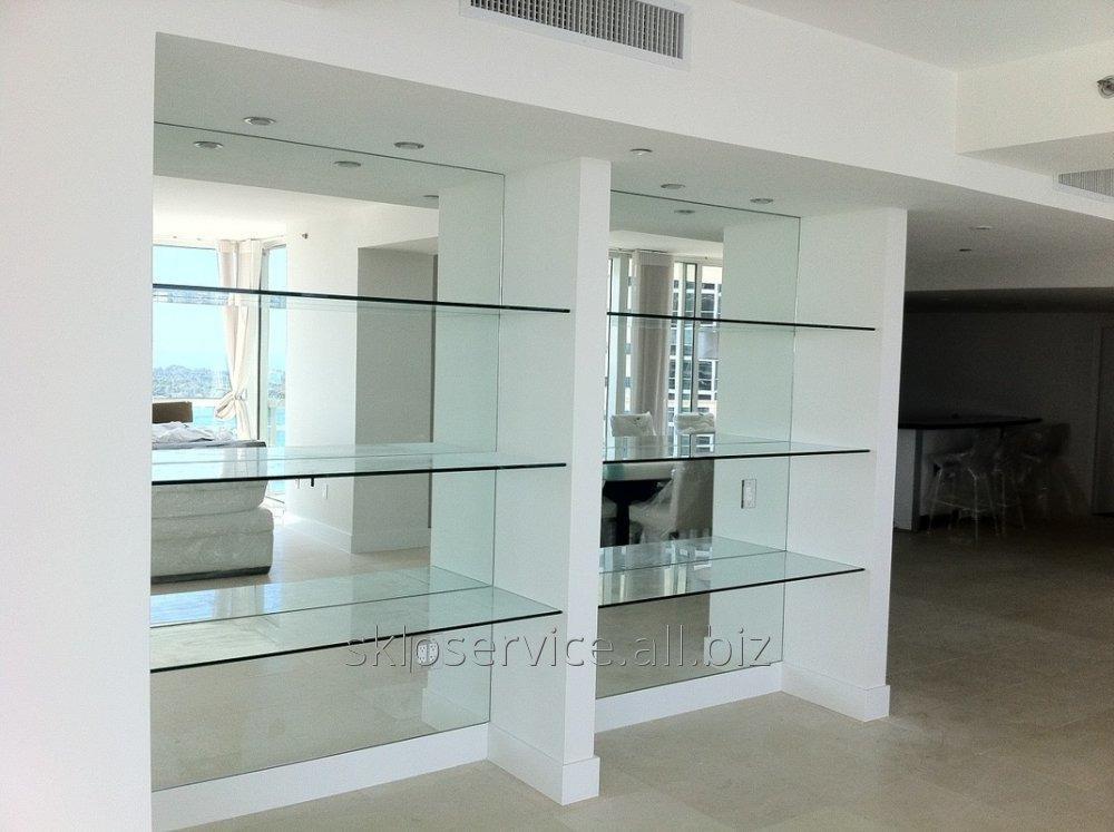 Заказать Изготовление большие зеркала, зеркальное полотно Днепр