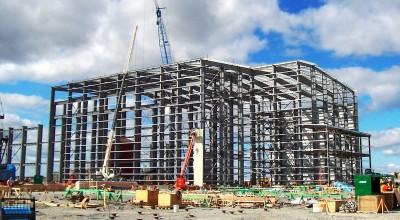 Подготовка под строительство из металоконструкций