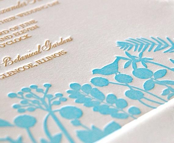 Высокая печать Letterpress , рельефная печать