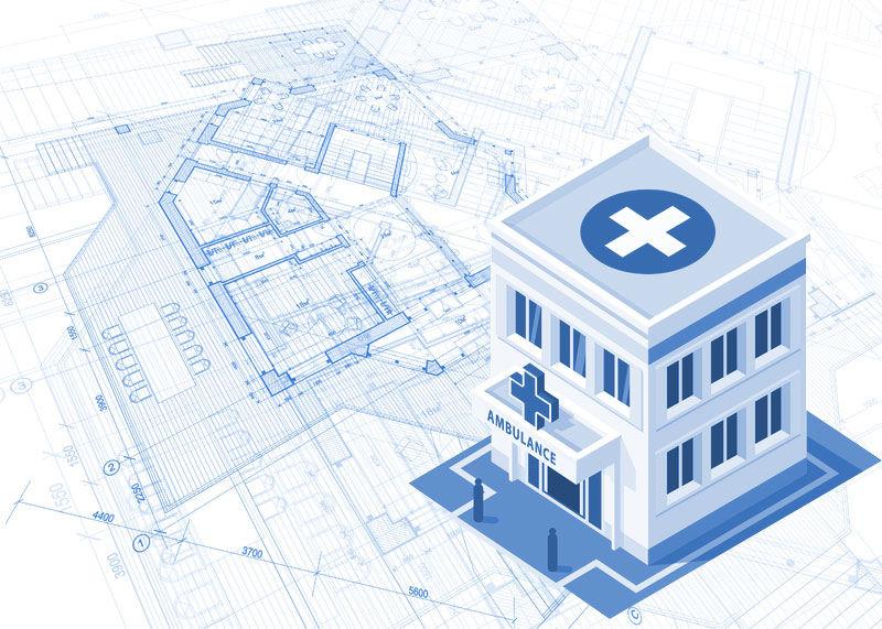 Заказать Проектирование больницы