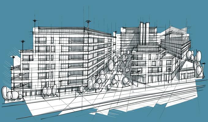 Разработка крупных строительных комплексов