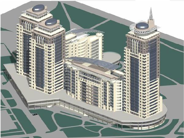 Проектирование комплексов жилых