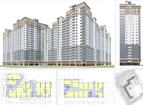 Проектирование многоэтажных жилых зданий