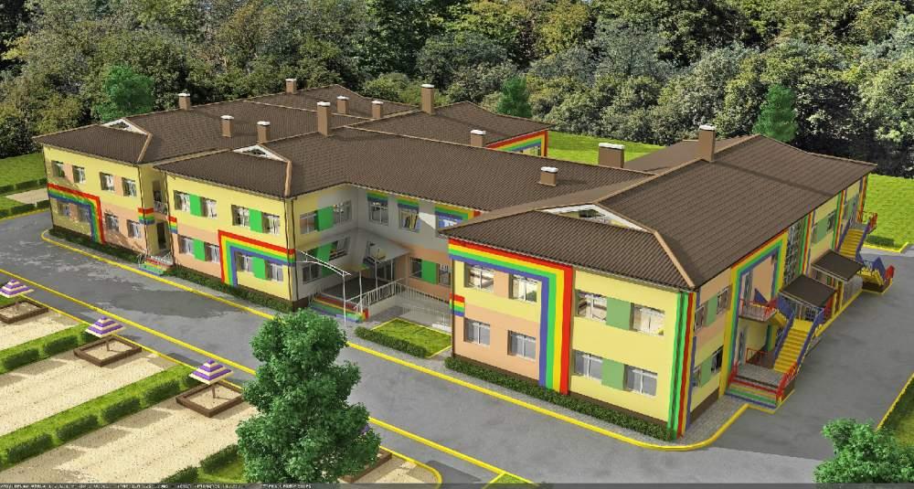 Проектирование детских садов