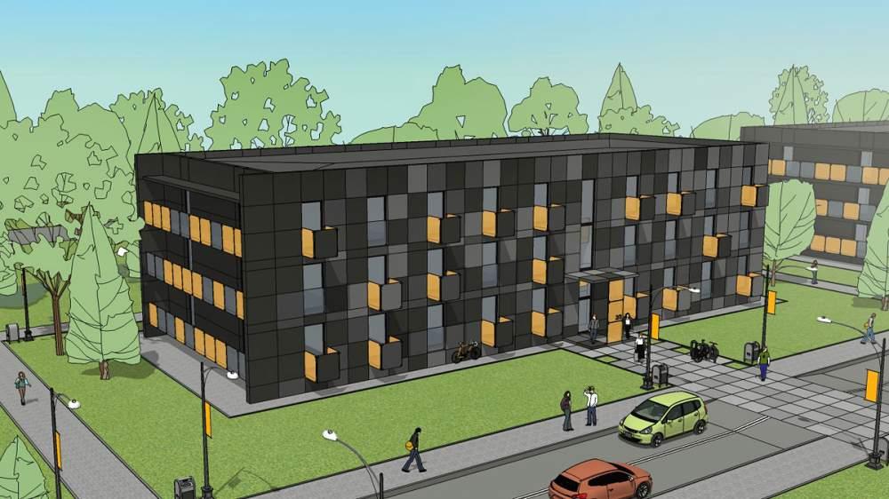 Проектирование социального жилья