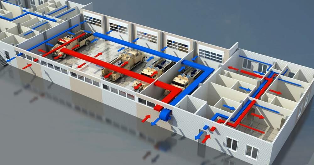 Проектирование вентиляции зданий