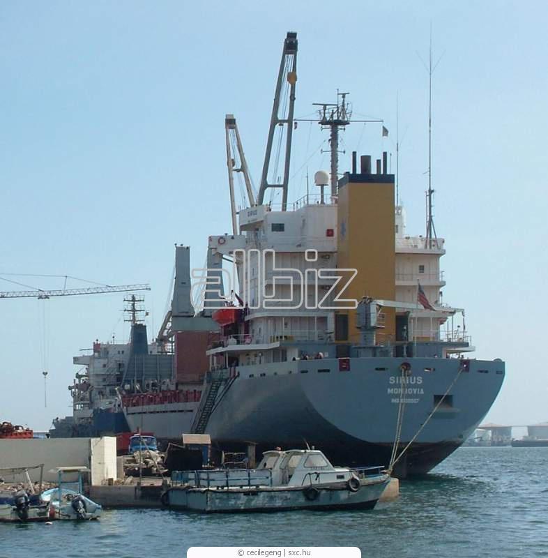 Заказать Международные регулярные морские грузовые перевозки контейнерами, фрахт судна