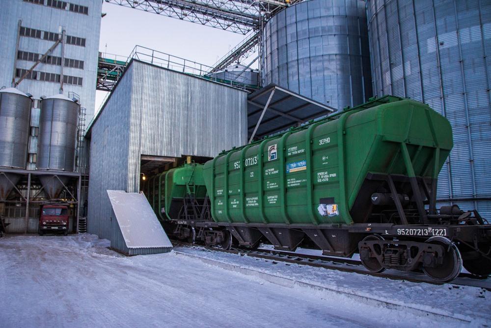 Железнодорожные перевозки Зерновые и масличные грузы