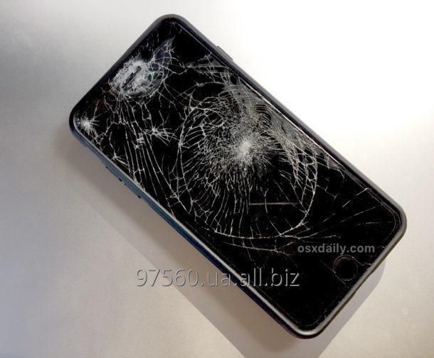 Заказать Ремонт: Замена разбитого стекла (экрана) iPhone 7 за 45 мин.