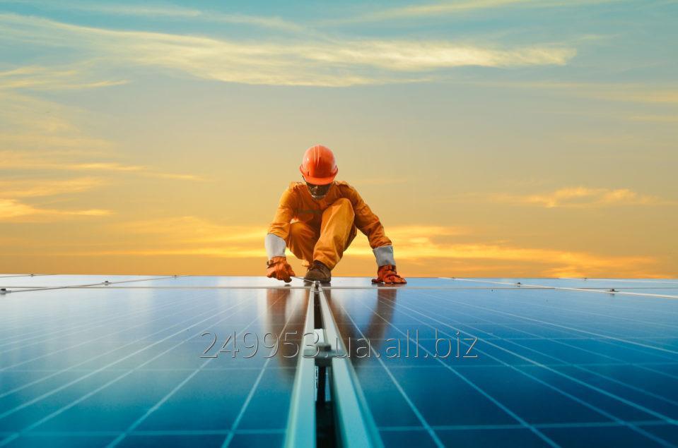 Заказать Солнечная электростанция. Проектирование, подбор оборудования, монтаж, подключение Зеленого тарифа, сервисное обслуживание
