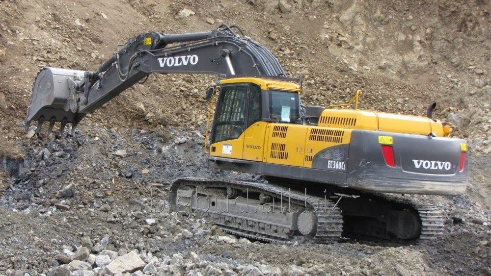 Заказать Услуги Гусеничного Экскаватора Volvo EC 360