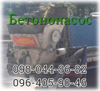 Заказать Аренда бетононасоса.БЕТОНОНАСОС