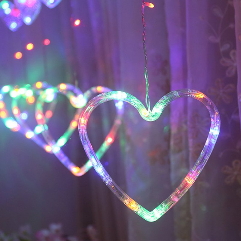Заказать Гирлянда - занавес Романтические звёзды