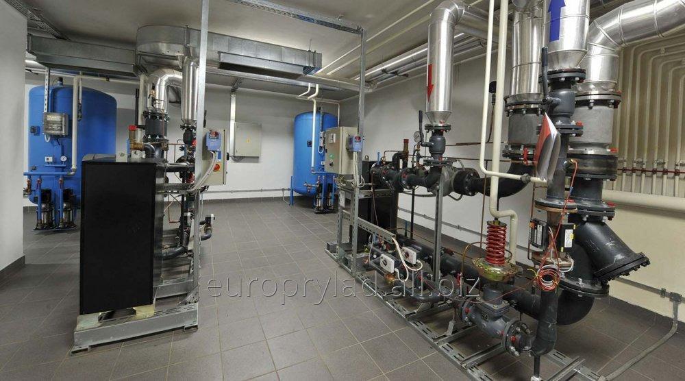 Изготовление и установка индивидуальных тепловых пунктов (ИТП)