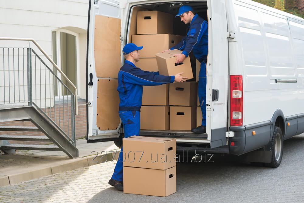 Order Transportation of personal belongings