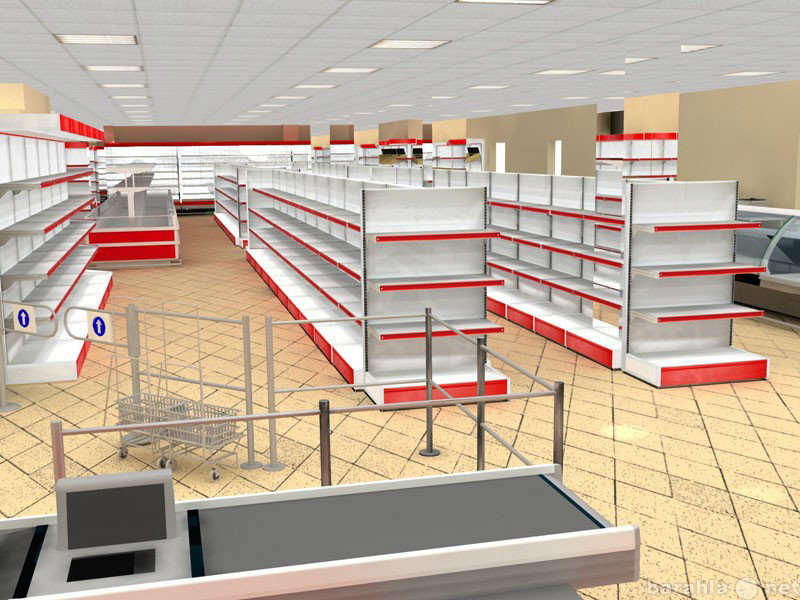 Installation of trade racks and trade equipment in Kiev and throughout the territory of Ukraine