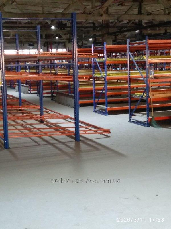 Демонтаж-монтаж стеллажных систем-переезд склада