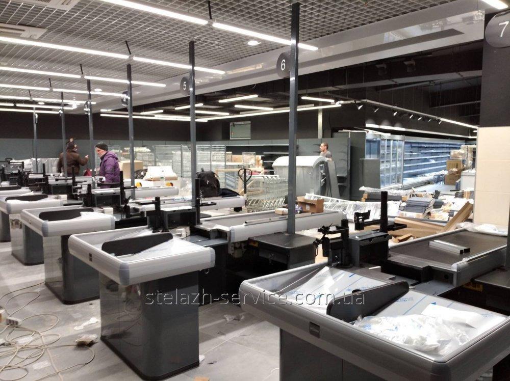 Монтаж торгівельного обладнання по всій территории України