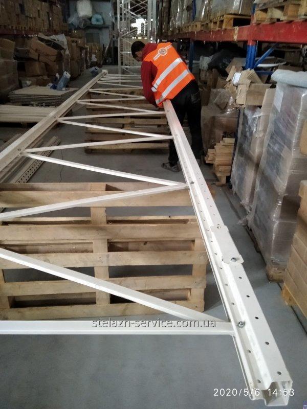 Збірка і установка / Монтаж складських стелажів і стелажних систем будь-якої складності