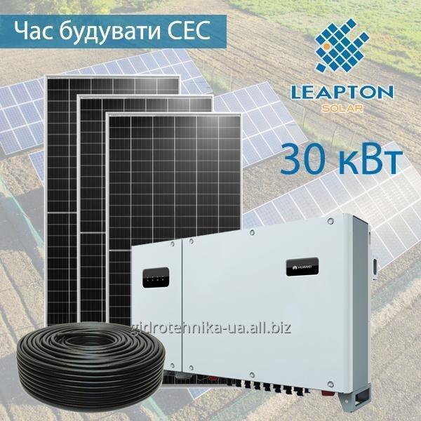 Замовити Сонячна електростанція 20 кВт