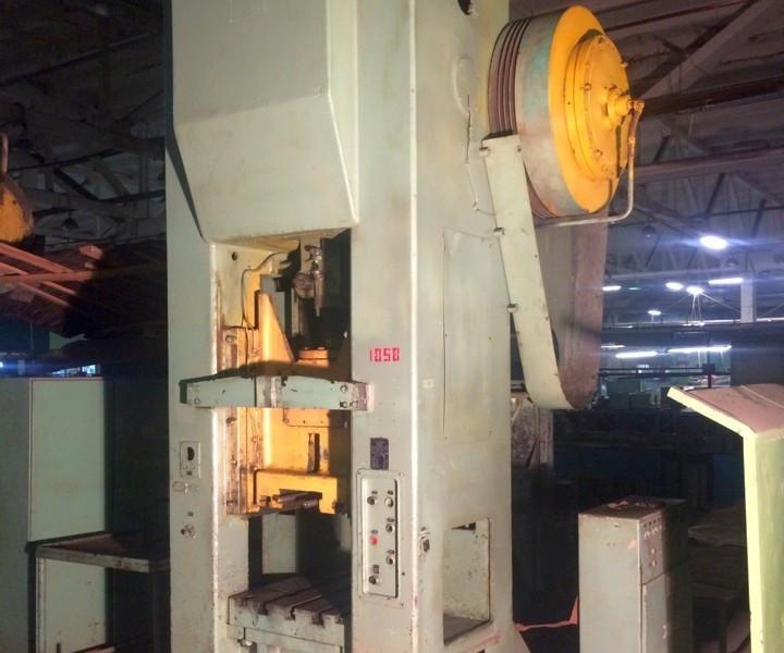 Заказать Пресс механический КБ262 (налаживание, ремонт, диагностика)