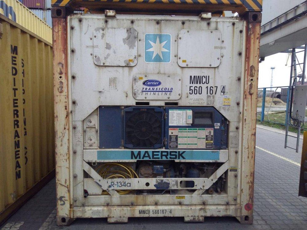 Заказать Аренда 20 футового рефрижераторного контейнера