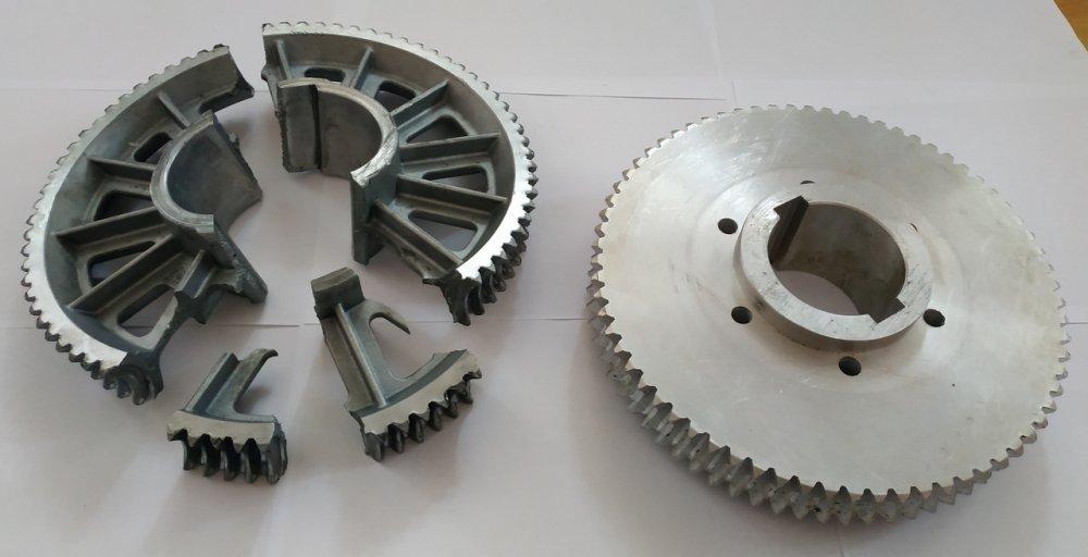 Заказать Изготовление зубчатого колеса шиномонтажного оборудования