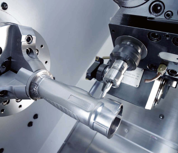 Machining of 2-6 axial details of irregular geometrical shape on the processing Goodway and Dahlih centers
