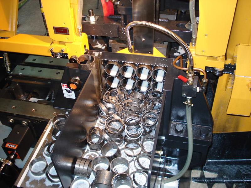 Заказать Услуги по порезке металла на ленточнопильных станках EverisingАвтоматическая и полуавтоматическая резка, резка пакета заготовок