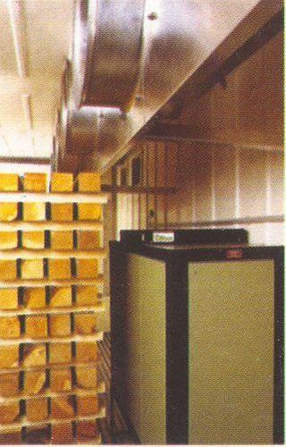 Заказать Сушка древесины твердых пород в конденсационных сушильных камерах
