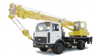 Заказать Услуги автокрана 16 тон (16 тон, 18 м стрела)