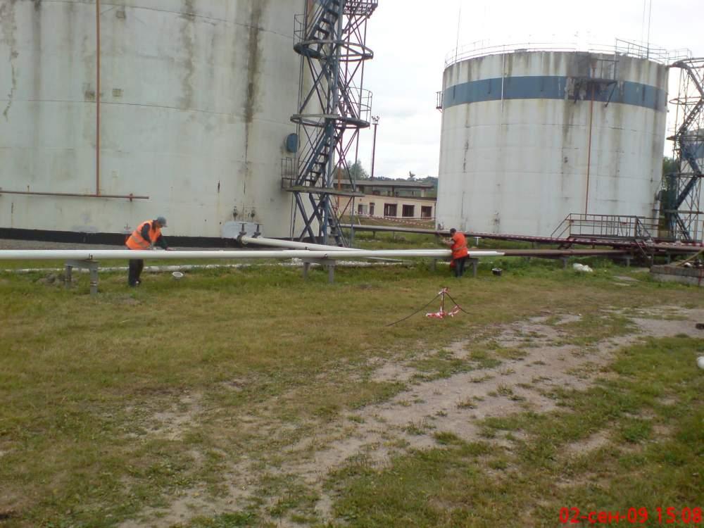 Заказать Строительство нефтебаз