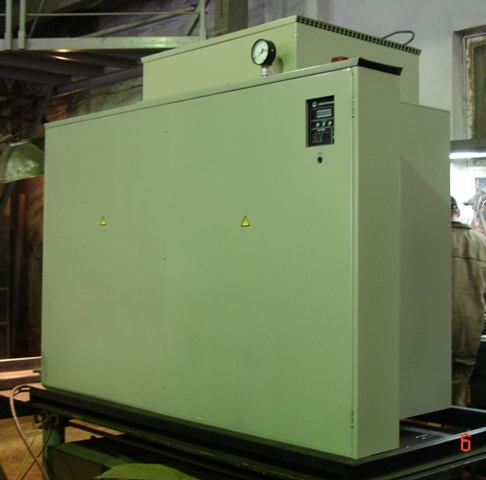 Заказать Производство отопительных электрокотлов от 6 до 1500 кВт