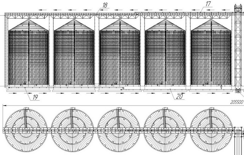 Заказать Проектирование, монтаж, пуско-наладка и сдача под ключ зернохранилищ и зерносушильных комплексов