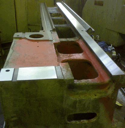 Заказать Шлифовка/шабрение направлящих станины