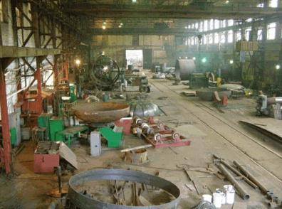 石油製品のタンクの修復