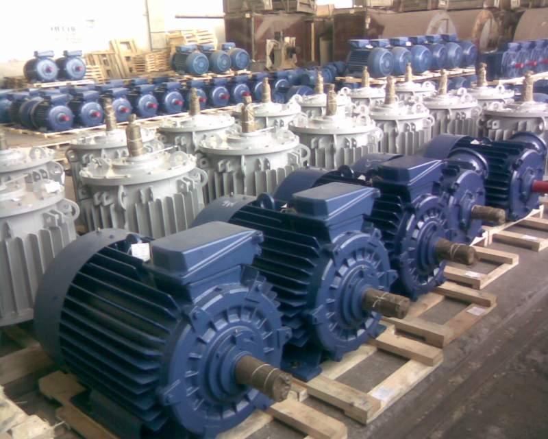 Изготовление,поставка электродвигателей различных серий.