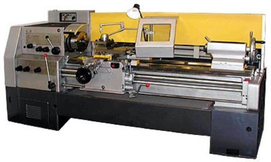 Services in repair and modernization of lathes