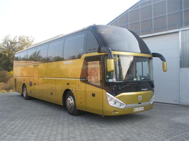 Заказать Перевозки автобусные по Украине
