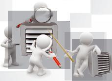 Ремонт вентиляции, чистка вентиляции, чистка воздуховодов (Ремонт оборудования)
