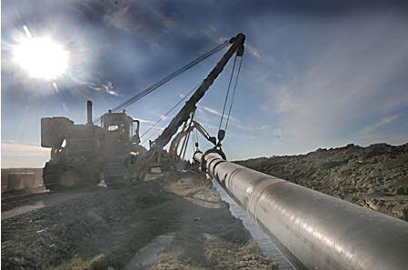Заказать Строительство газовых магистралей, газопроводов