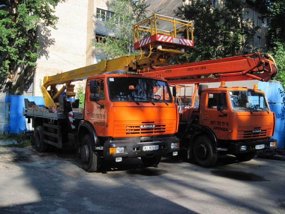 Заказать Аренда автовышки в Киеве и области 18-32 метра