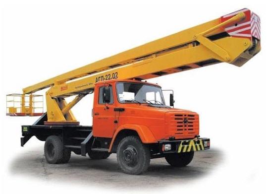Заказать Услуги автовышки, строительной спецтехники