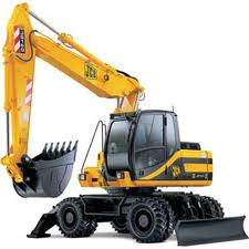 Services of the JCB 160w excavator