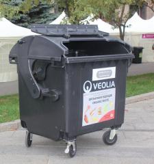 Export of household garbage