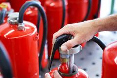 Service of fire extinguishers