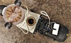 Overhauling (rewind) of electric motors of import