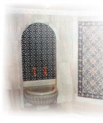 Turkish bath to turnkey boors. Construction and