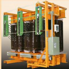 Repair of transformers power (oil and dry),
